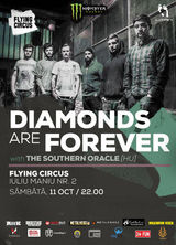 Concert Diamonds Are Forever & The Southern Oracle in Cluj Napoca