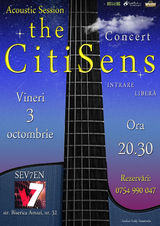 The CitiSens, un prim concert acustic