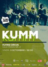 Trupa KUMM concerteaza pe 3 octombrie la Cluj si pe 4 octombrie, la Iasi