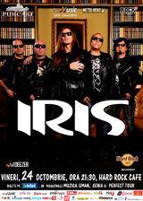 IRIS revine la Hard Rock Cafe, vineri, 24 octombrie
