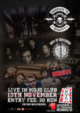 Concert  Goodbye to Gravity, Days of Confusion si Sinscape in Mojo Club Bucuresti