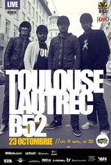 Concert de lansare Toulouse Lautrec in Club B52 Bucuresti