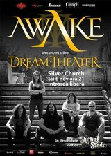 Concert-tribut Dream Theater cu trupa AWAKE in The Silver Church!