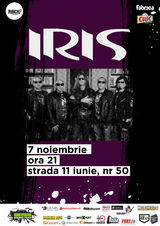Concert Iris in Club Fabrica Bucuresti