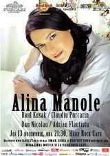 Concert  Alina Manole joi la Hard Rock Cafe