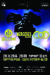 Concert MERCEDES BAND, C.O.D. si ALL I HAD la Bucuresti in Question Mark