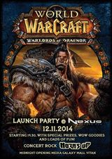 Concert HORNS UP la World of Warcraft: Warlords of Draenor Launch Party