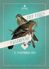 Concert Thy Veils si Valerinne in Club Control Bucuresti