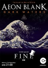 Lansare de album Aeon Blank: Dark Waters in Club Colectiv Bucuresti