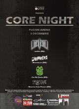 O seara speciala: Core Night la Fusion Arena