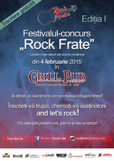 CONCURS: RockFrate, in Grill Pub Bucuresti