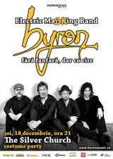 Trupa byron - bal mascat aniversar in The Silver Church Club pe 18 decembrie