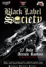 Concert Black Label Societyla Bucuresti in 2015