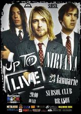 Up To Nirvana live in Subsol Club din Brasov