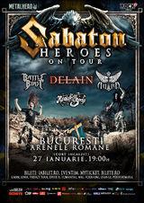 SABATON: Lansare de album la Bucuresti, pe 27 ianuarie