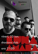 Concert Luna Amara pe 23 Ianuarie, la Oradea, in Shadows Club