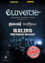 Concert Eluveitie in Club Colectiv Bucuresti