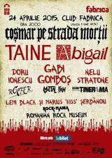 Cosmar pe Strada Mortii cu Taine si Abigail pe 24 Aprilie in Fabrica
