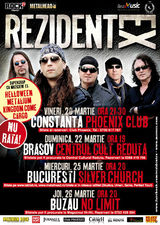 Concert Rezident Ex in Club No Limit din Buzau