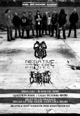 CAP DE CRANIU, NEGATIVE CORE PROJECT si EPILEPTIC OUTBREAK, pe 18 martie, la Question Mark din Bucuresti