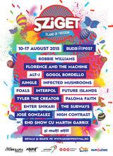Noi confirmari la Sziget2015