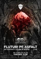 Concert Fluturi pe Asfalt si Padina Fest Warm-up Party in Control pe 30 aprilie