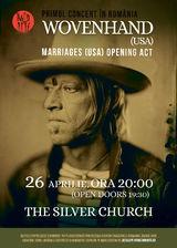 Concert Wovenhand in Silver Church pe 26 Aprilie