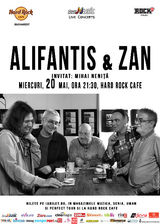 Alifantis & ZAN canta pe 20 mai la Hard Rock Cafe