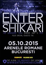 Concert Enter Shikari la Bucuresti in data de 5 octombrie 2015