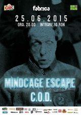 Concert Mindcage Escape pe 25 Iunie 2015 in clubul Fabrica