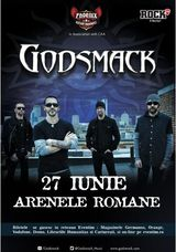 Concert Godsmack in Romania