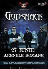 Concert Godsmack in Romania