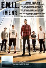 E.M.I.L. - I M E N S Summer Tour 2015 in 8 orase din tara