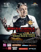 Concert Mircea Vintila si Brambura pe 20 noiembrie 2015, la Hard Rock Cafe