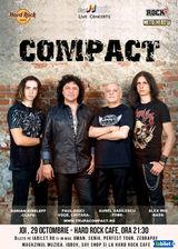 COMPACT canta pentru prieteni pe 29 octombrie la Hard Rock Cafe