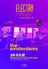 The Amsterdams pe 24 iulie, la Gradina cu Filme in Bucuresti