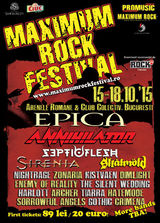EPICA, primul headliner confirmat la Maximum Rock Festival 2015