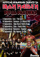 Blood Brother (tribut Iron Maiden din Ucraina) in turneu in Romania