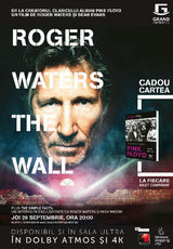 Roger Waters The Wall, revolutionarul film-concert, va fi difuzat la Grand Cinema&More
