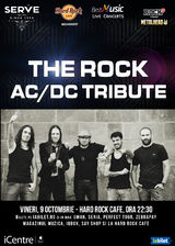 TRIBUT AC/DC cu THE ROCK pe 9 octombrie la Hard Rock Cafe