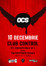 Concert OMUL CU SOBOLANI in Control Club. Special guest: The Kryptonite Sparks