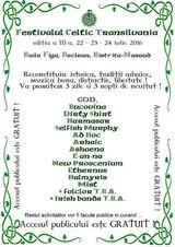 Festivalul Celtic Transilvania, ed. a III-a, 22 - 24 iulie 2016