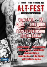 S-au pus in vanzare biletele pentru Alt Fest, singurul festival alternativ din Romania