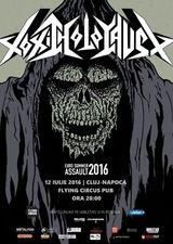 TOXIC HOLOCAUST vor concerta la Cluj Napoca, in Flying Circus Pub