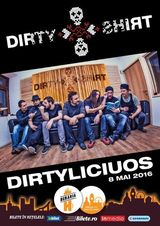Dirty Shirt concerteaza pe 8 Mai in Beraria H