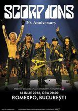 Concert Scorpions pe 16 iulie la Romexpo