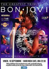 Best Bon Jovi Tribute cu 'New Jersey' pe 16 septembrie la Hard Rock Cafe