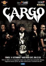 CARGO canta pe 14 octombrie la Hard Rock Cafe din Bucuresti