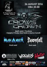 Crows Crown, castigatorii Wacken Metal Battle din Honduras, concerteaza in premiera la Bucuresti