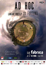 Ad Hoc lanseaza un single nou si un videoclip 360 in club Fabrica